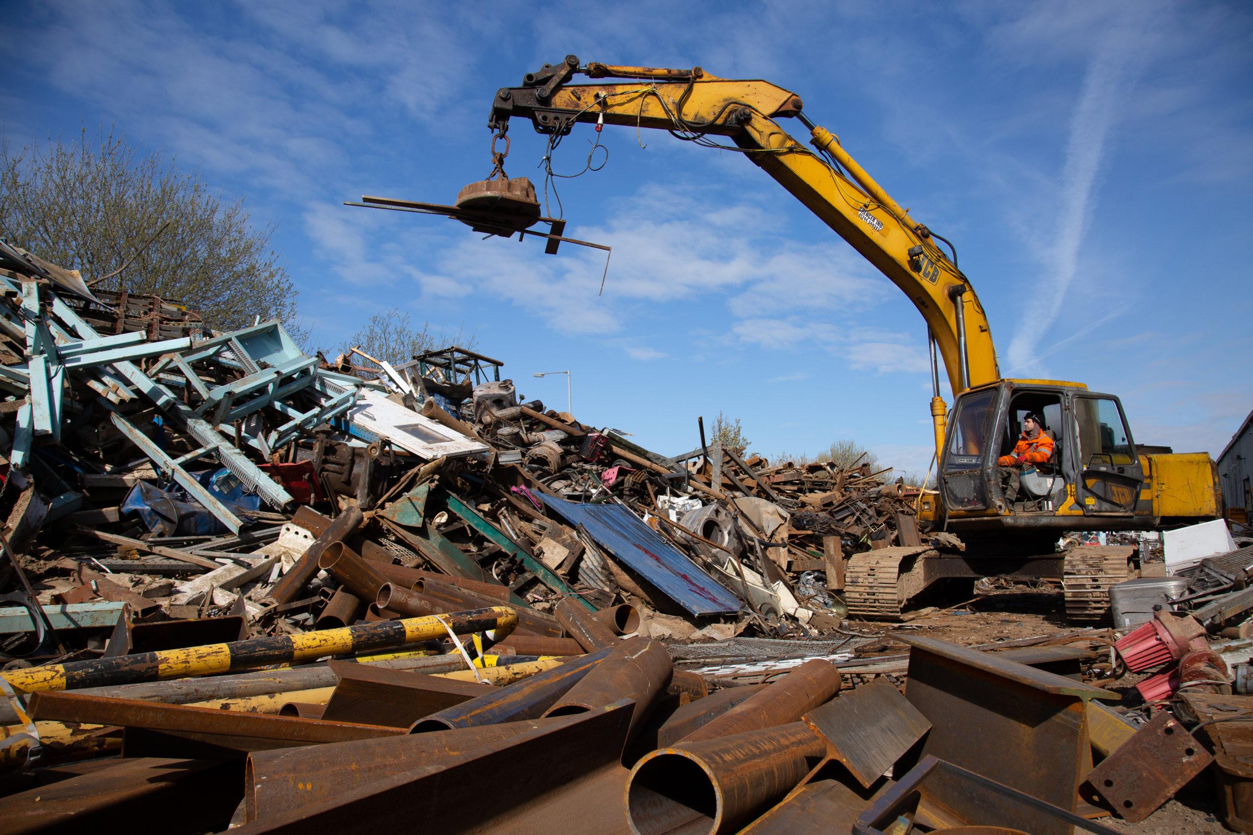Scrap Metal Dealer in Wrexham